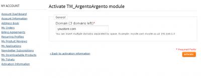 Argento activation