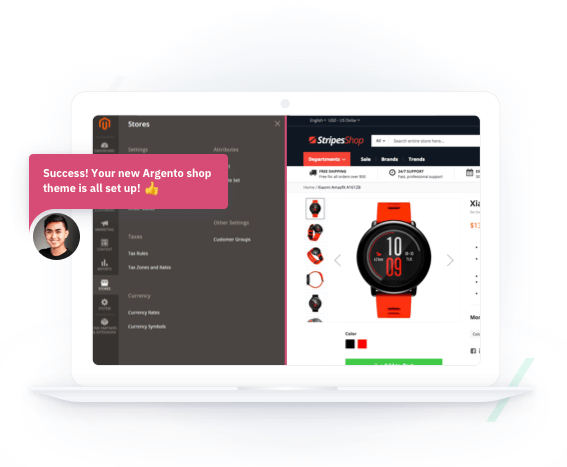 🥇 Argento - Most powerfull Magento responsive template